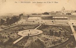 CPA - Belgique - Brussels - Bruxelles - Jardin Botanique - Forêts, Parcs, Jardins