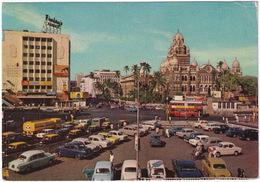 Bombay: 'HP' OIL TANKER TRUCK, AUSTIN CAMBRIDGE A55, FIAT 1100 PREMIER TAXI'S, HILLMAN SUPER MINX, DOUBLE DECK BUS - Toerisme