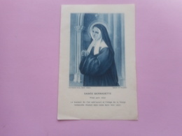 DEVOTIE-SAINTE BERNADETTE--11,50 OP 7,50 CM - Religion & Esotericism