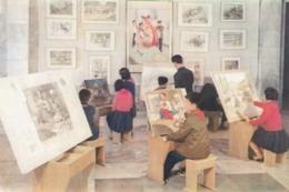 North Korea Pyongyang - Palace Of Students , Art Study - Korea, North
