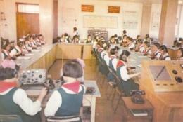 North Korea Pyongyang - Palace Of Students , Telecommunicatios Study - Korea, North