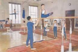 North Korea Pyongyang - Palace Of Students , Gymnastics - Korea, North