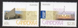 AUSTRALIA, 2013 CANBERRA 2 MNH - 2010-... Elizabeth II