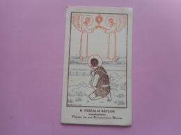 DEVOTIE-H.PASCALIS BAYLON--12,00 OP 7,00 CM - Religion & Esotericism