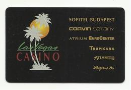 Hungary, Budapest, Las Vegas Casinos, 2019. - Casinokarten