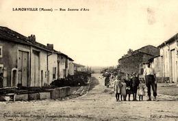 > [55] Meuse >LAMORVILLE  / RUE JEANNE D'ARC - Francia