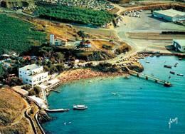 Port Vendres Vue Generale De La Plage Et Du Camping 1970 CPM Ou CPSM - Port Vendres
