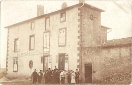Dépt 57 - GRAVELOTTE (rue De Metz) - CARTE-PHOTO Distillerie D'eau De Vie De Seigle Charles PATARD - (thème Alcool, Vin) - Otros Municipios