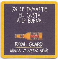 #D234-014 Viltje Royal Guard - Beer Mats