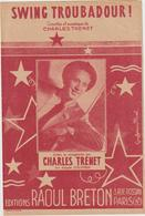 (TRE)CHARLES TRENET ,   SWING TROUBADOUR  ! - Partitions Musicales Anciennes