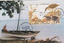 Cocos (Keeling) Islands 1999 Australia 99 Souvenir Card - Cocos (Keeling) Islands