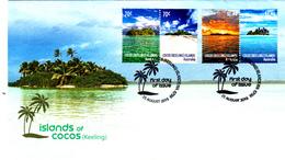 Cocos (Keeling) Islands 2015 Islands Of Cocos FDC - Cocos (Keeling) Islands
