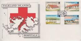 Falkland Islands 1987 Hospitals FDC - Falkland Islands