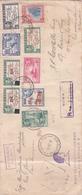 Fiji 1941 Registered Air Mail Cover To Australia - Fiji (1970-...)