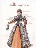 COSTUMES ANCIENS - LOT DE 3 CARTES - Fashion