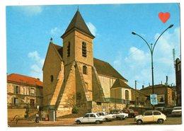 02241-LE-78-MONTESSON-L' Eglise St Côme---------------voitures - Montesson
