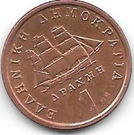 *greece 1 Drachme  1988  Km 150   BU - Grèce