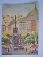 Liège - Le Perron - 1953 Edit L'office Du Tourisme De La Ville De Liège - Dessin - Liege