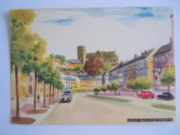 Liège - Basilique St. Martin - 1953 Edit L'office Du Tourisme De La Ville De Liège - Dessin - Liege