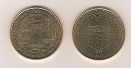 Médaille Touristique / Monnaie De Paris 16 Aubeterre Sur Dronne - Eglise Souterraine St-Jean 2019 - 2019