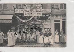 CPA - 75 - PARIS 15e - CHACUTERIE COMBE - Place Cambronne -  Prix + Gros Cochon élevé Par COUTEILLE à 50 - LE TEILLEUL - - Arrondissement: 15