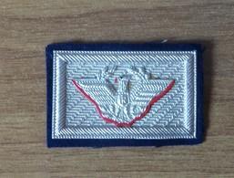 TRAVETTA Generale In Argento Su Fondo Blu Per Uniforme Da Sera Ufficiale Esercito Italiano  (159) - Esercito