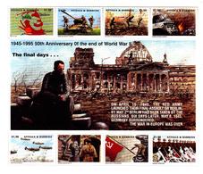 Antigua 1865 / 70 50r Anniversaire De La Fin De La Seconde Guerre Mondiale - Guerre Mondiale (Seconde)