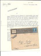 44 - Correspondance Et Enveloppe Pub , BISCUITS LEFEVRE UTILE à NANTES, LU Petit Beurre - Francia