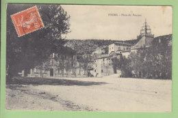 NYONS : Place Du Foussat, Gendarmerie Nationale. 2 Scans. Edition ? - Nyons
