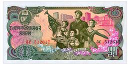 NORTH KOREA 1 WON 1978 Pick 18a Unc - Corée Du Nord