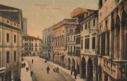 Cartolina - Postcard / Viaggiata - Sent /  Treviso, Via Vittorio Emanuele. - Treviso