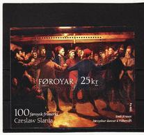 TNT206 DÄNEMARK - FÄRÖER 2003  Michl BLOCK 15 ** Postfrisch SIEHE ABBILDUNG - Färöer Inseln