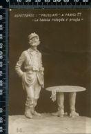 """MH 13 - 1° GUERRA MONDIALE - ASPETTANDO I """"PRUSSIANI"""" A PARIGI !!! - . D.M. 519 - FIRMATA RIZZI - NON CIRCOLATA - Humoristiques"""
