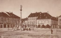 Wiener Neustadt - Frauensaule Am Hauptplatz , Apotheke - Wiener Neustadt