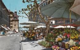 Geneve - La Place Du Molard 1964 - GE Geneva