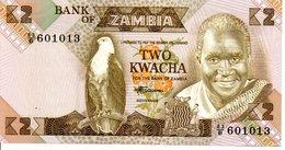 ZAMBIE ZAMBIA - Billet K2 Aigle Animal Oiseau - Zambia