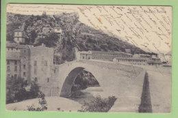 NYONS : Le Pont Romain. 2 Scans. Edition Girard - Nyons