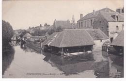 28 Eure Et Loir -  PONTGOUIN -  Les Bords De L'Eure - Lavoirs - France