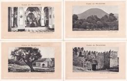 Palestine - LOT De 7 CPA - Vue De Palestine - Edition De La Chocolaterie D' Aiguebelle (73) - Palestine