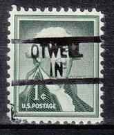 USA Precancel Vorausentwertung Preo, Locals Indiana, Otwell 839 - United States