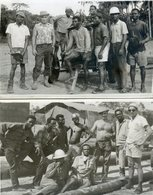 568.  OMOKU    .   2 Photos EDE  OMOKU. 1966 - Nigeria