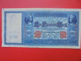 Reichsbanknote 100 MARK 1910 CIRCULER (B.1) - [ 2] 1871-1918 : Empire Allemand