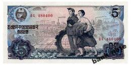 NORTH KOREA 5 WON 1978 Pick 19d Unc - Korea, North