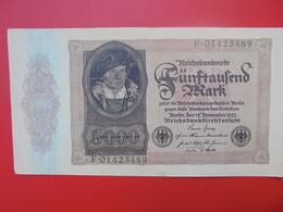 Reichsbanknote 5000 MARK 1922 CIRCULER (B.1) - [ 3] 1918-1933 : Weimar Republic