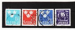 TNT196 SCHWEDEN 1964  Michl 525/28 Used / Gestempelt SIEHE ABBILDUNG - Schweden