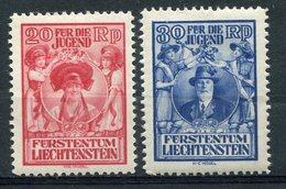 1932  - LIECHTENSTEIN -PRO IUVENTUTE- 2 VAL. - M.N.H..- LUXE ! ! - Liechtenstein