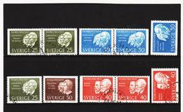 TNT197 SCHWEDEN 1963/64  Michl 513/14 +529/30 Used / Gestempelt SIEHE ABBILDUNG - Schweden