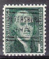 USA Precancel Vorausentwertung Preo, Locals Indiana, Petersburg 632 - United States