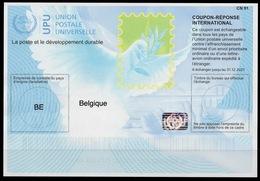 BELGIQUE BELGIEBELGIUM Is40 NEW DATE 20180522 AB InternationalReply Coupon Reponse Antwortschein IAS IRC Hologram Mint - Ganzsachen