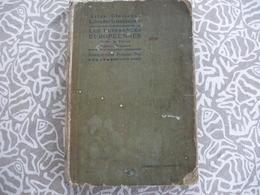 ATLAS GEOGRAPHIE SCHRADER ET GALLOUEDEC PUISSANCES EUROPEENNES SAUF FRANCE 1923 - Books, Magazines, Comics